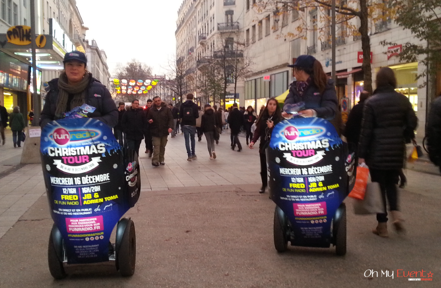 Street-Marketing Segway